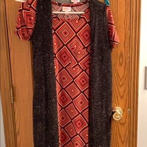 Size small joy and size xs Carly LuLaRoe